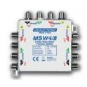 Divisore Wide Band passivo 4 in 8 outPerdita -3,5 dB (distribuzione su 2 colonne)