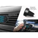 Puro Supporto Universale Magnetico da Auto per Ventole Areazione,  Magnet Holder , Universale Nero
