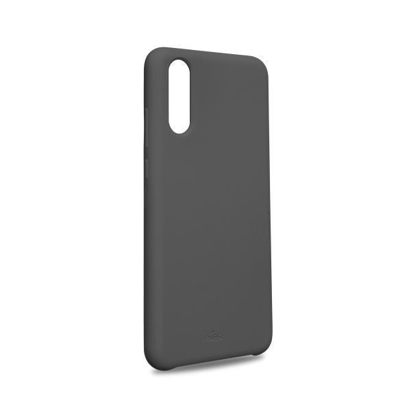 Puro Cover in Silicone Liquido con interno in microfibra per Huawei P20 5 8 Grigio - Forniture Elettroniche Trentine snc