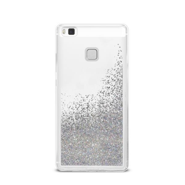 Puro Cover PC TPU Sand per Huawei P9 LITE 5 2 con liquido e glitter Argento - Forniture Elettroniche Trentine snc