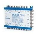 Multiswitch LEGACY in cascata a 9 cavi Attivo passante 6 derivate +1dB Tv Terr. -15 dB