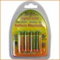 Batterie Stilo Ni MH Serie Digital 3200 Blister di 4 Batterie Stilo Ni MH Serie Digital 3200   Trattasi di Pile di elevata quali