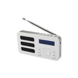 RADIO DAB SOUNDAB METAL SILVER RADIO DIGITALE DAB+ E FM CON BATTERIA RICARICABILE COLORESILVER