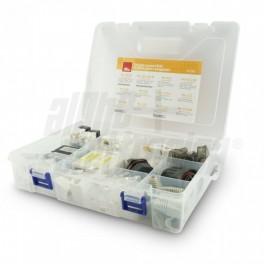 Valigetta accessori RJ45 Keystone, SPINE Valigetta accessori RJ45 Keystone, spine e accoppiatori