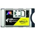 CAM TIVUSAT 4K ULTRA HD C/SCHEDA CAM 4K ULTRA HD PER LA VISIONE DEI CANALI CODIFICATI TIVUSAT COMPLETA DI SMART CARD