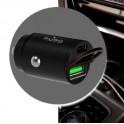 PURO CAR CHARGER con porta USB-A + USB C