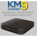 ANDROID BOX TV DIGIQUEST KM9 4K HDR CON TELECOMANDO VOCALE